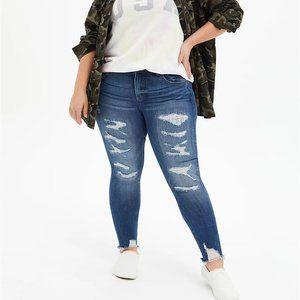 Torrid High Rise Bombshell Premium Skinny Jeans